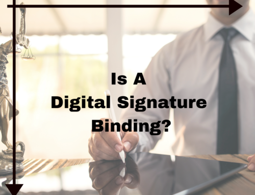Is A Digital Signature Binding?